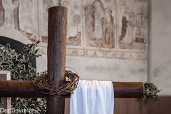 Die Gretchenfrage: Nachösterlich auf den Punkt gebracht --- Gretchen's question: Pointed after Easter (der Sekretär) Tags: auferstehung bild christ christendom christenheit christentum christian christianity dornenkrone goodfriday gotteshaus karfreitag kirche kranz kreuz kreuzigung krone kunst leichentuch ostern ring symbol wand wandgemälde wandmalerei art christlich church cross crown crownofthorns crucifixion easter mural pall picture reif resurrection shroud wall wallpainting wreath religion religiös religious
