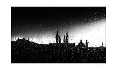 cold spring mood (Armin Fuchs) Tags: arminfuchs würzburg lavillelaplusdangereuse silhouette rain window light clouds festung festungmarienberg dom neumünster marienkapelle raindrops spring march smartphone naturallayer