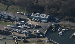Shotley Marina in Suffolk UK - aerial image (John D Fielding) Tags: shotley marina shotleymarinaltd suffolk shotleygate uk boatyard above aerial nikon d810 hires highresolution hirez highdefinition hidef britainfromtheair britainfromabove skyview aerialimage aerialphotography aerialimagesuk aerialview drone viewfromplane aerialengland britain johnfieldingaerialimages fullformat johnfieldingaerialimage johnfielding fromtheair fromthesky flyingover fullframe