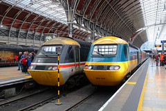 43002 & 43185 (Keith Valla) Tags: gwr hst power cars 43002 43185 stand stops paddington last day public service great western main line