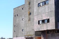 Tsunami ruins (しまむー) Tags: fujifilm xe2 ebc fujinon 55mm f18 velvia yokohama kabushima 横浜 蕪島 八戸 蕪島神社 菜の花