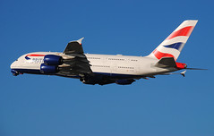 British Airways A380 G-XLEA (Infinity & Beyond Photography: Kev Cook) Tags: british airways a380 gxlea airlines airbus aircraft airplane airliner london heathrow airport lhr photos planes