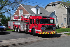Edison Fire Department Truck 1 (Triborough) Tags: nj newjersey middlesexcounty edison efd edisonfiredepartment firetruck fireengine ladder truck truck1 towerladder spartan erv