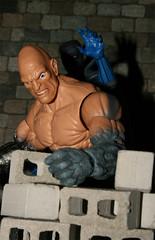 Quick Absorbing (danlogan49) Tags: greygargoyle absorbing man stone granite marvel cinder blocks concrete bricks hasbro