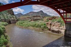 Salt River Bridge (walkerross42) Tags: saltriver river arizona bridge arch water canyon desert erosion span