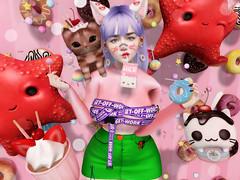 ♥♥♥ (ღ ღ[[J E SSIE ]] ღ ღ) Tags: kustom9 genus babyface genusproject maitreya avatar secondlife secondlifeblog sl style av avi blogger cute mishmish amitomo popony hangry foxcity