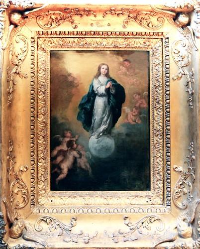 Murillo1DA Bartolome Esteban Murillo 1618-1682  Séville  Immaculée  Conception  Immaculate Conception Louvre