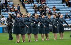 Half time entertainment (davidhowlett) Tags: ricoharena quins wasps premiership waspsrugby gallagher rugbyunion ricoh rugby coventry harlequins
