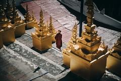 The Golden Land (desomnis) Tags: myanmar burma traveling travelphotography travel sagaing sagainghill buddhisttemple buddhist buddhism buddhistmonks monk buddhistic mandalayregion mandalay golden asia southeastasia uminthonzetemple canon5dmarkiv sagaingregion 5d canon tamron2470mmf28 tamron2470 tamron desomnis