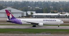 B767 | N585HA | PDX | 20111006 (Wally.H) Tags: boeing 767 boeing767 b767 n585ha hawaiianairlines pdx kpdx portland airport