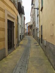 Street In Begur (grahambrown1965) Tags: pentaxricohimagingpentaxmx1 pentax mx1 pentaxmx1 ricoh spain catalonia begur street road houses costabrava