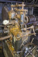 Generator (AnotherStepAway) Tags: underground exploring exploration ue urban urbex abandoned forgotten industry lightning industrial ore lightpainting darkness dark below adventure flashlight