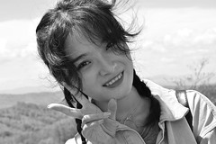 DSC_1682 (aleksandarneskovicc) Tags: black white monochrome portrait asian nikon d3400