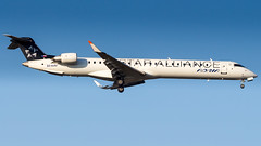 Bombardier CRJ-900LR S5-AAV Adria Airways - Star Alliance Livery (William Musculus) Tags: plane spotting aviation airplane fraport frankfurt am main rhein frankfurtmain airport flughafen fra eddf william musculus s5aav adria airways bombardier crj900lr cl6002d24 crj900 canadair regional jet special scheme adr jp