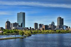 View from the Longfellow Bridge in Boston. (WilliamND4) Tags: sliderssunday hss boston city river