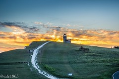 Belle Tout Lighthouse, East Sussex (safc1965) Tags: belle tout lighthouse east sussex sunset evening south downs war way walking hiking nationaltrust national trust landscape scenery photography