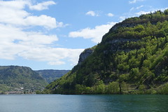 Nantua Lake @ Port @ Hike around Lac de Nantua
