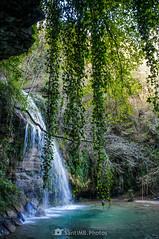 Cascada de hiedra (SantiMB.Photos) Tags: 2blog 2tumblr 2ig joanetes lavalldenbas garrotxa girona otoño autumn cascada waterfall saltdelroure geo:lat=4211498679 geo:lon=239743011 geotagged santestevedenbas cataluna españa