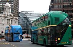 Metroline LT762 on route 390 and Arriva London LT2 on route 38 Victoria 06/05/19. (Ledlon89) Tags: bus buses london tfl transport transportforlondon londonbus londonbuses