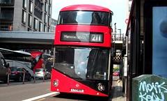 Abellio London LT605 on route 211 Waterloo 18/05/19. (Ledlon89) Tags: bus buses london tfl transport transportforlondon londonbus londonbuses
