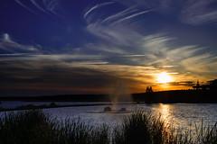 sunset valdecañas (jcc90) Tags: nikon d610 sky clouds weekend beginner caceres spain