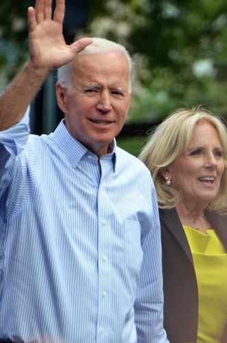 Joe Biden and his guardian