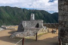 Machu Picchu Peru (Chicago_Tim) Tags: machu picchu peru inka inca city village architecture andes mountains stone citadel sundial sun dial intihuatana astrological clock