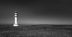 (b-senses) Tags: ajo faro nature noir et blanc black whihe phare espagne canon 550d mer