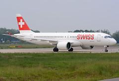 HB-JCG A220-300 Swiss (MM Aviation Photography) Tags: airbus a220 a220300 bcs3 hbjcg swiss maastricht mst ehbk