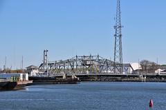 Swing Bridge New Bedford, Massachusetts (Stephen St-Denis) Tags: new bedford massachusetts swing bridge route 6 bristol county
