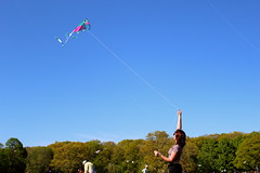 Beautiful and High 3 (Abbie Stoner) Tags: girl woman kite portrait redhead park outside