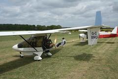 G-CBNO (IndiaEcho) Tags: gcbno cfm streak shadow eghp popham airport airfield light general civil aircraft aeroplane aviation basingstoke hampshire england canon eos 1000d microlight fly in