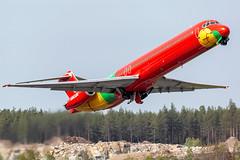 OY-RUE McDonnell Douglas MD-83 (DC-9-83) Danish Air Transport (DAT) (Andreas Eriksson - VstPic) Tags: oyrue mcdonnell douglas md83 dc983 danish air transport dat danish2242 berlin