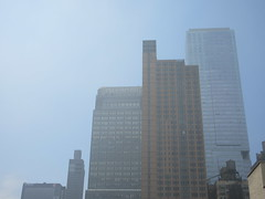 2019 Sunday Morning Hazy Smoke from Fire in Times Square 8824 (Brechtbug) Tags: 2019 sunday morning hazy smoke from fire times square virtual clock tower turned off hells kitchen clinton near broadway nyc 05192019 new york city midtown manhattan spring springtime weather building dark low hanging cumulonimbus cumulus nimbus cloud hell s nemo southern view smells pretty bad