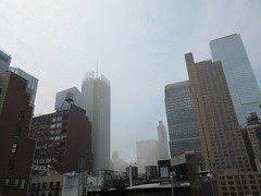 2019 Sunday Morning Hazy Smoke from Fire in Times Square 8796 (Brechtbug) Tags: 2019 sunday morning hazy smoke from fire times square virtual clock tower turned off hells kitchen clinton near broadway nyc 05192019 new york city midtown manhattan spring springtime weather building dark low hanging cumulonimbus cumulus nimbus cloud hell s nemo southern view smells pretty bad