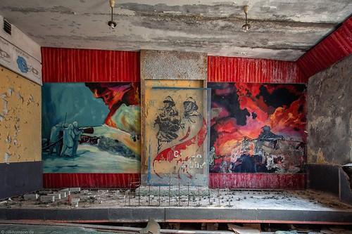 Duga, Tschernobyl.