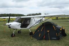 G-CJXF (IndiaEcho) Tags: gcjxf skyranger swift 912 eghp popham airport airfield light general civil aircraft aeroplane aviation canon eos 1000d basingstoke hampshire england