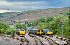 Ready to go (Mark Gowing) Tags: 37421 143601 150280 rhymney southwales valleys dmu