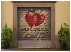 Torino due cuori e....... (cenadavide10) Tags: torino vetrine turin murales nikon d5300 street