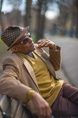 D1006570 (sswee38823) Tags: man street streetportrait smoking hat sunglasses markeety portrait noctiluxm50mmf095asph noctiluxm109550mmasph noctilux095 noctilux noc noctiluxm109550asph leicanoctiluxm50mmf095asph 095 f95 50mm 50 leica50mmf95 commonwealthave commonwealthavenuemall boston bostonma ma massachusetts people rangefinder leica leicam leicacamera newengland spring outdoor outdoors outside city photography photograph photo nofilter seansweeney seansweeneyphotographer