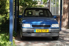 1992 Opel Corsa 1.4 (NielsdeWit) Tags: nielsdewit car vehicle fgzj39 opel corsa a 14 c14nz hatchback ede