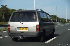 1985 Renault Espace 2000 GTS 'Kampeerauto' (NielsdeWit) Tags: nielsdewit car vehicle renault espace 2000 gts kampeerauto owner a12 driving highway nk39dk favourite