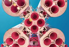 Vostok Rocket (FBN Raiger) Tags: ракетаносительвосток vostok rocket moskau moscow москва russland russia россия russie rússia rusia canoneos77d sigma1770mmf284contemporary rakete raumfahrt kosmonaut space vdnkh вднх raumschiff spaceship