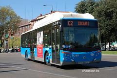 190328  1057 (chausson bs) Tags: madrid emtmadrid autobuses autobusos buses iveco castrosua c2 atocha