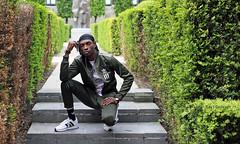 IMG_4647h (Defever Photography) Tags: blackmodel male model ghana belgium ghent portrait fashion adidas green
