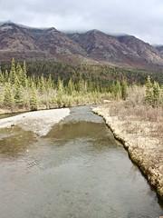 Crossing The Creek (neukomment) Tags: alaska road nabesnaroad mentastamountains mountains may 2019 spring wiiderness canoneosrebelt5i 18250mmf3563dcosmacrohsm sigmalens