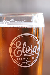 Cold Libation (peterkelly) Tags: digital canon 6d northamerica elora ontario canada elorabrewingco beer drink glass liquid brewery
