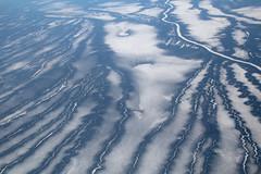 Tundra Snakes (peterkelly) Tags: digital canon 6d northamerica nunavut canada arctic canadian stream river ice frozen tundra aerialphotos aerialphotography landscape