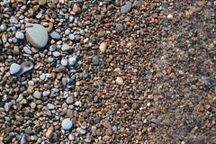 Dry Stones, Wet Stones (peterkelly) Tags: digital canon 6d northamerica pointpeleenationalpark ontario canada tip lakeerie pebbles stones shore water beach
