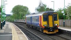 156473 - Tamworth, Staffordshire (The Walsall Spotter) Tags: tamworth railway station class156 dmu sprinter 156473 metrocammell eastmidlandstrains longmarston derby etchespark sidings networkrail britishrailways